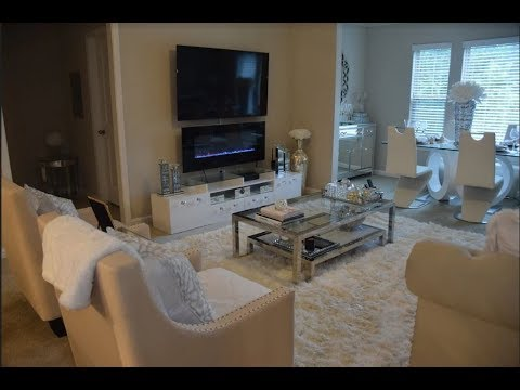 New Modern Glam Living Room Tour Homedecor Muse See Youtube