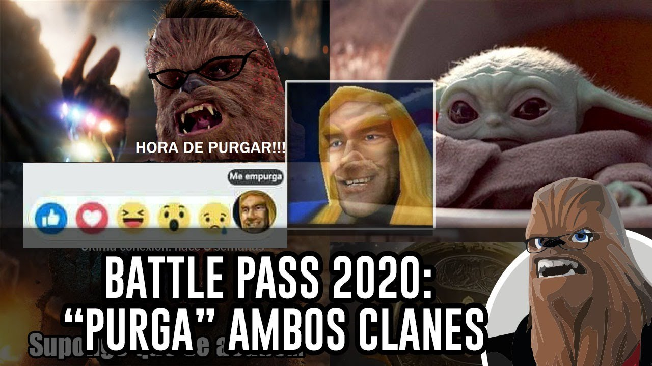 BATTLE PASS 2020 PURGA 29/06/20 AMBOS CLANES