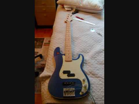 fender aerodyne p bass 4 to 5 string conversion youtube. Black Bedroom Furniture Sets. Home Design Ideas