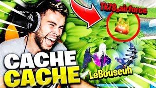 LE PIRE CACHE CACHE AVEC TK78 SUR FORTNITE BATTLE ROYALE !!!