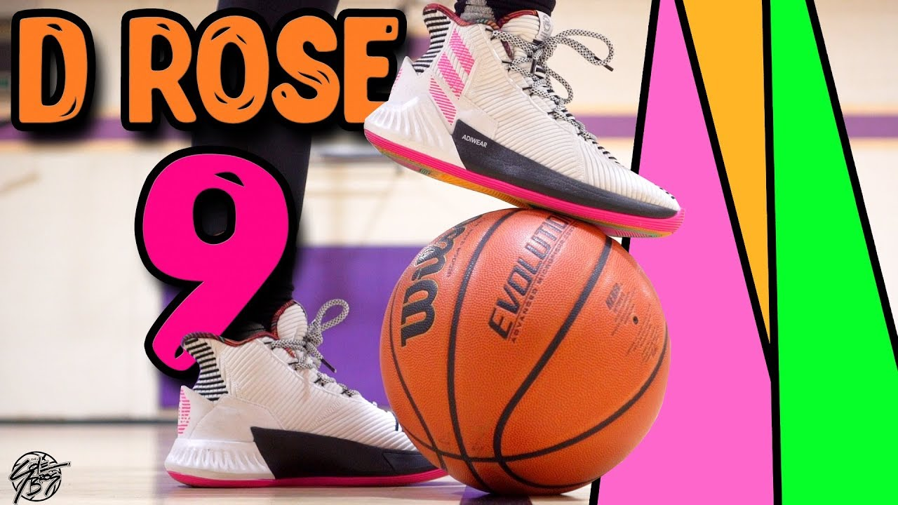 Adidas D Rose 9 Performance Review! - YouTube 466d5557f