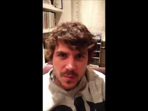 Messaggio di Dani Martín ai fan italiani