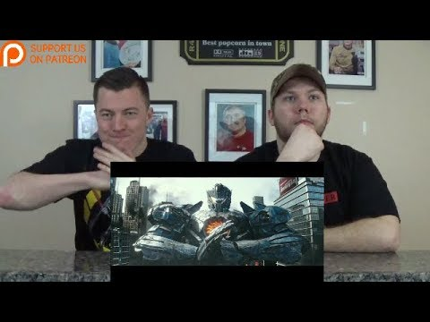 Pacific Rim Uprising – Official Trailer 2 REACTION!!!