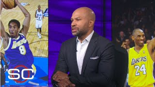 Derek Fisher remembers Kobe and Gianna Bryant | SportsCenter