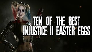10 Of The Best Injustice 2 Easter Eggs, Secrets & References