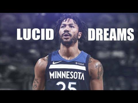 """Derrick Rose Mix """"Lucid Dreams"""" HD"""