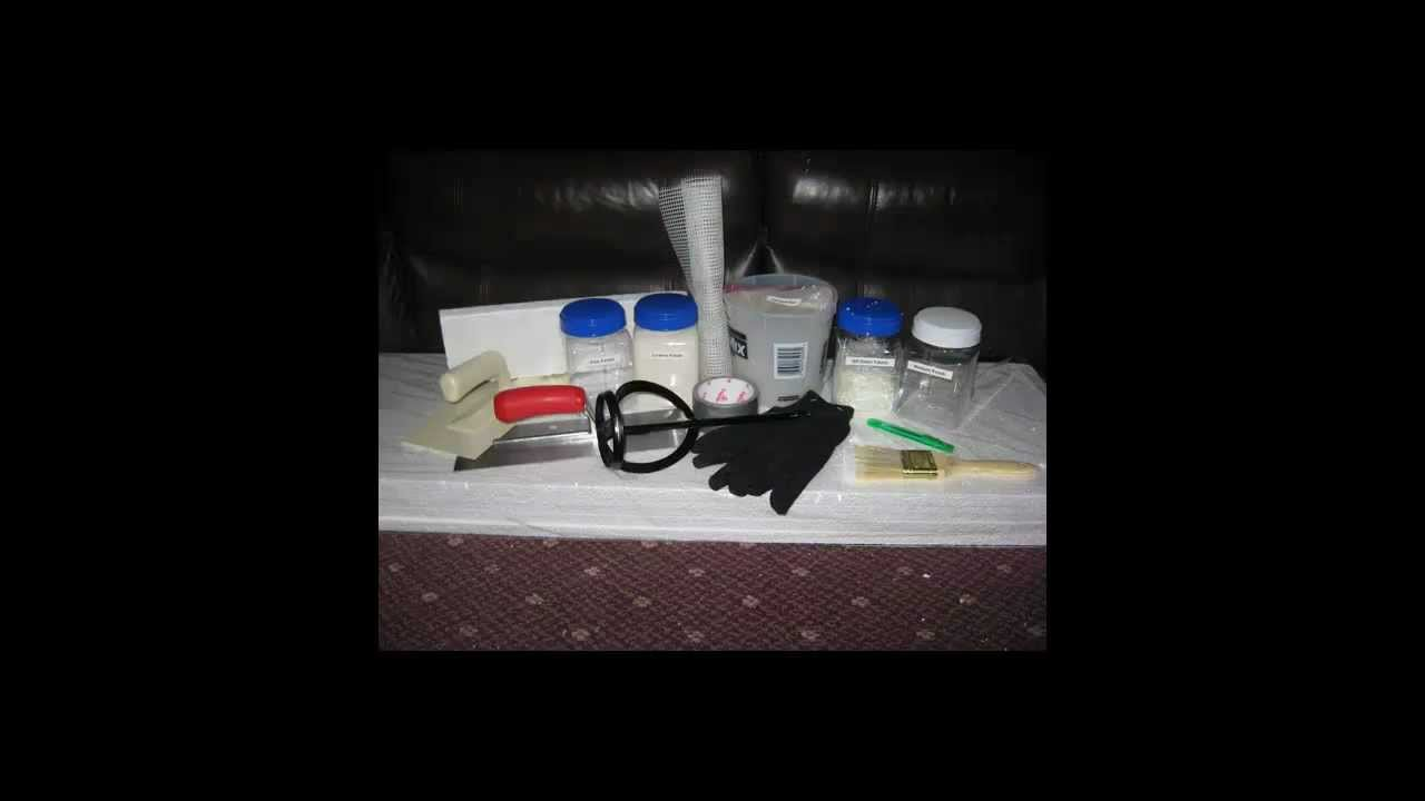 EIFS Repair Kit - DIY - YouTube
