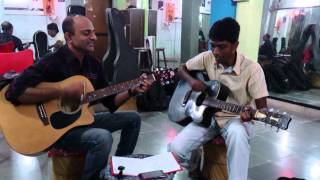 Chand Taare Tod Laun - Yes Boss - Guitar cover By Dharmesh Soni