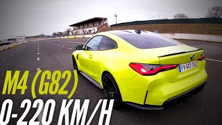 How fast is the new BMW M4 Competition (G82) ?