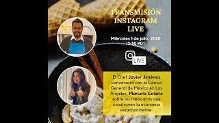 Conversación Chef Javier Jimenez: 1 de Julio, 2020
