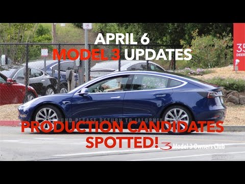 Tesla Model 3 Production Candidate Spotted in the wild! | Model 3 Owners Club
