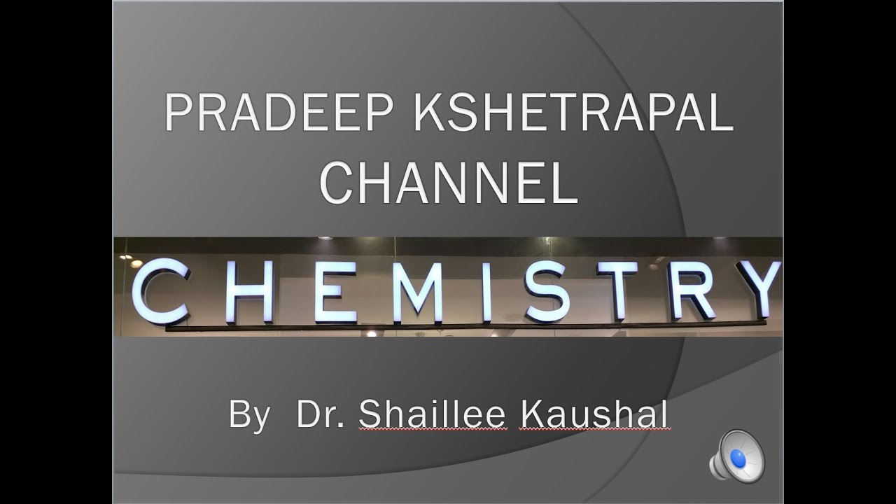 Chxi 1 07 concentration in solution 2016 by shaillee kaushal pradeep kshetrapal physics channel