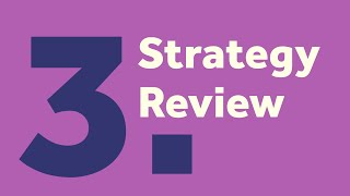 Activity #3:  Strategy Review