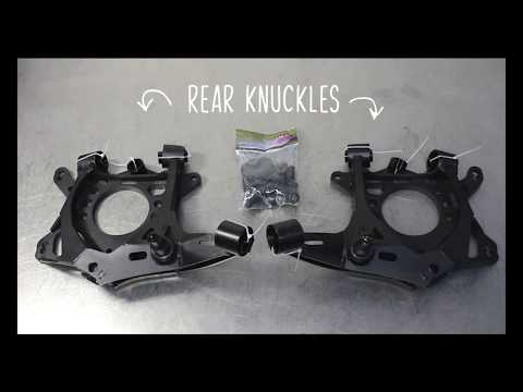 GKTech rear drop knuckle install s13 / s14 / s15 / r32 / r33/ r34 / z32