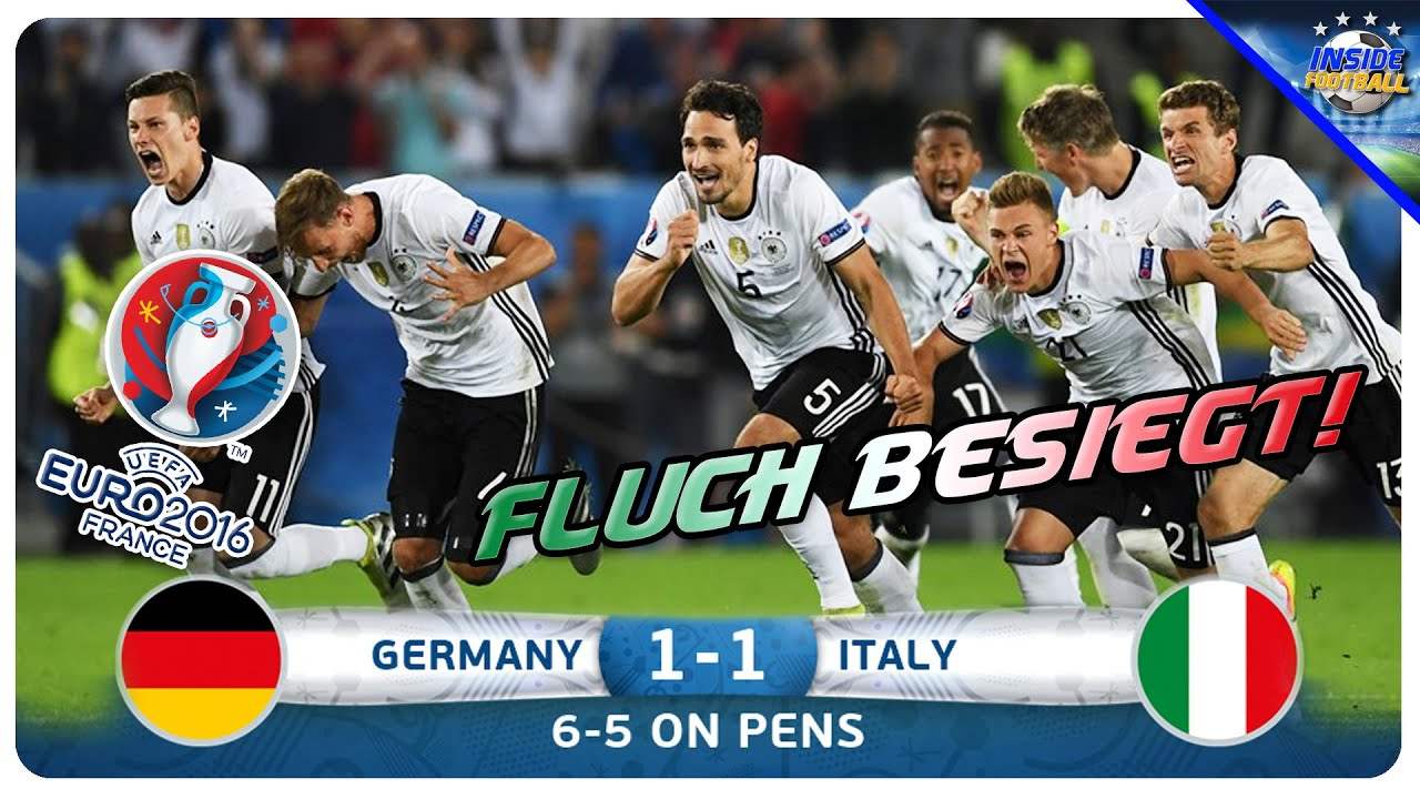 Em Italien Gegen Deutschland