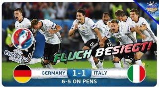 Was für ein spiel! deutschland besiegt italien im viertelfinale der em 2016 elfmeterschießen und kommt somit dem großen traum vom titel einen schritt nähe...