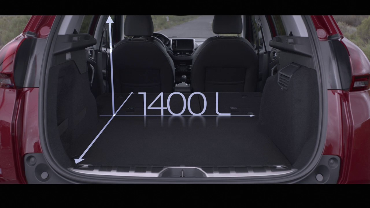 new peugeot 2008 suv with exceptional boot space youtube