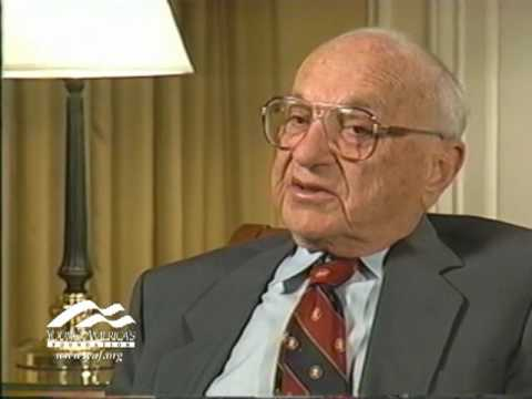 Milton Friedman on Political and Economic Freedom