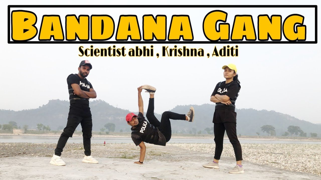 Bandana Gang Dane Video | DIVINE Feat. Sikander Kahlon | Scientist abhi ft.Aditi & Krishna