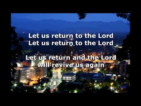 Let Us Return to The Lord - Frank James Zerbel - © 1998 Assurance Music Group