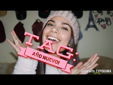 TAG: AÑO NUEVO! -VALERIA