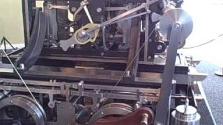 Babbage's DIfference Engine No. 2 in operation - printing tables