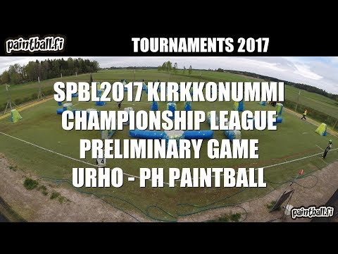 Urho vs PH Paintball - SPBL2017 Kirkkonummi