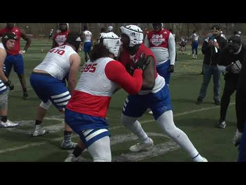 Jordan White Highlights #395 Rivals Camp Series New Jersey 2018