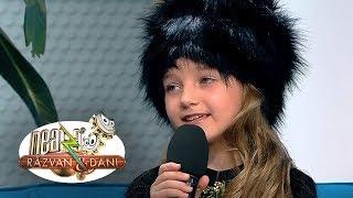Dani Oțil, interviu adorabil cu o micuță matrioșca