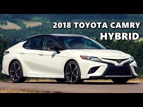 2018 Toyota Camry Hybrid Driving Walkaround Youtube