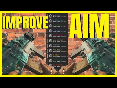 HOW TO IMPROVE YOUR AIM ON CONSOLE - Rainbow Six Siege(Platinum Plays)