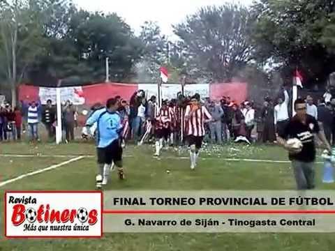 Previa Final Torneo Provincial G. Navarro (Siján) - Tinogasta Central