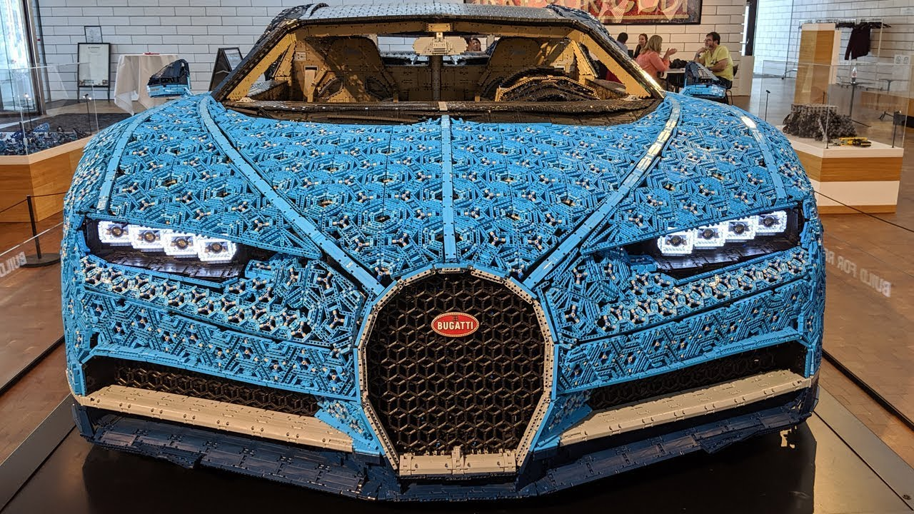 life size 1 1 lego technic bugatti chiron all details youtube. Black Bedroom Furniture Sets. Home Design Ideas