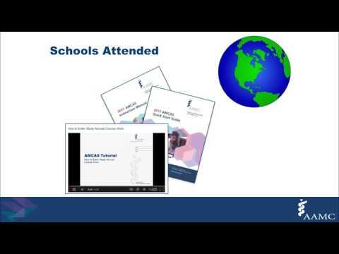 The 2018 AMCAS Application Webinar For All Advisors
