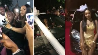 FULL VIDEO:Davido Buys His GirlFriend, Chioma  A PORSCHE SUV For Her Birthday