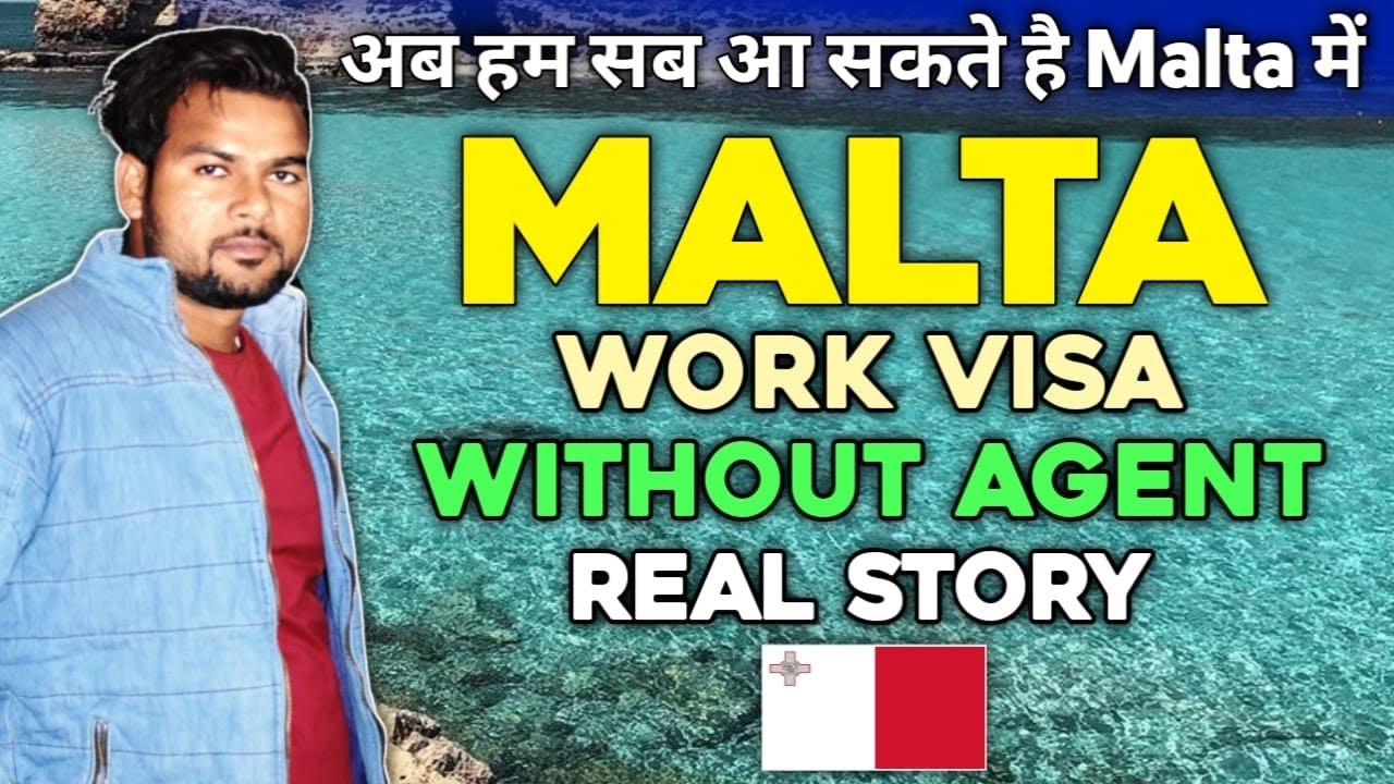 MALTA WORK VISA WITHOUT AGENT FROM INDIA | HOW I GOT MALTA WORK VISA WITHOUT AGENT FROM INDIA