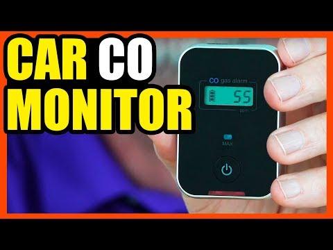 Carbon Monoxide Detector For Your Car