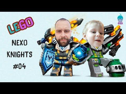 Прохождение игры LEGO NEXO KNIGHTS #04 Baby GO!show Новый выпуск мультики  для детей видео для детей