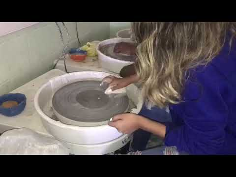 How to Center Clay on the Pottery Wheel