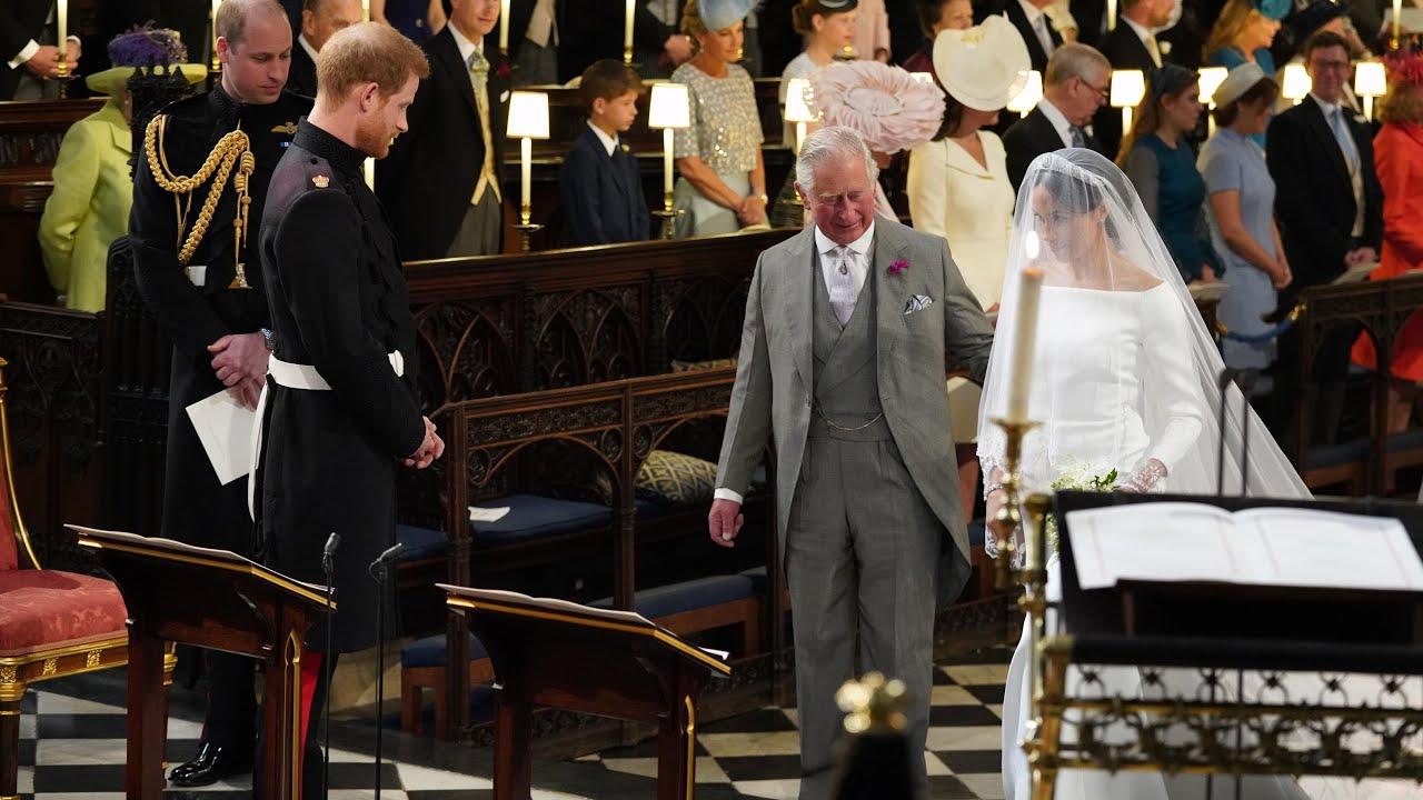 Image result for meghan markle charles wedding