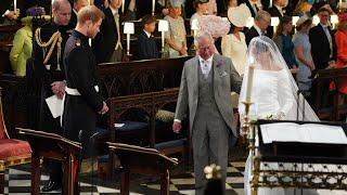 Prince Charles Walks Meghan Markle Down Aisle To Marry Prince Harry