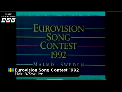 Eurovision Song Contest 1992 (English Commentaries)