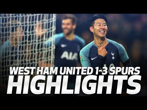 HIGHLIGHTS | West Ham United 1-3 Spurs (Carabao Cup Fourth Round)