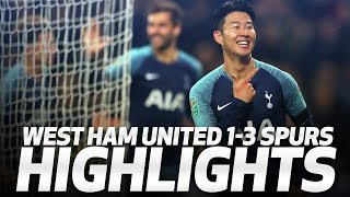 Download Video HIGHLIGHTS | West Ham United 1-3 Spurs (Carabao Cup Fourth Round) MP3 3GP MP4
