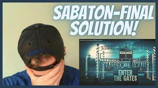 SABATON-The Final Solution l REACTION!
