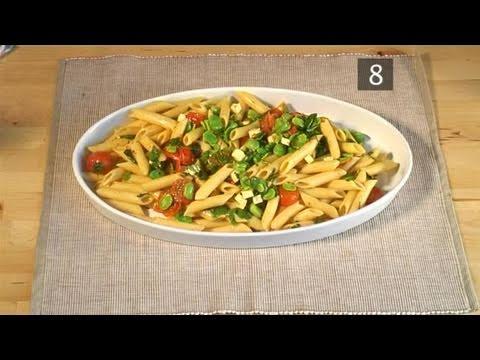 How To Prepare Broad Bean And Cherry Tomato Pasta