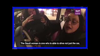 Breaking News | Excitement as Saudi women hit the road