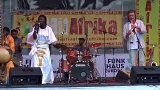 Mariama Kouyaté Live @Cologne MitAfrika Festival 2015 (1)