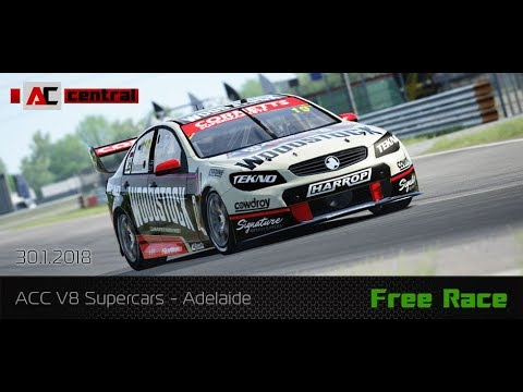 ACCentral.cz - V8 SuperCars / Adelaide - Free race