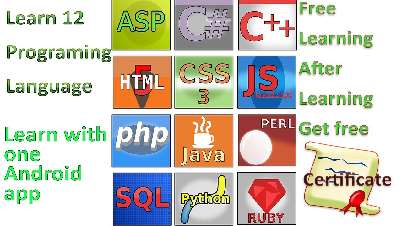 Learn 12 programming languages free in one app and get certificate learn 12 programming languages free in one app and get certificate 1betcityfo Choice Image